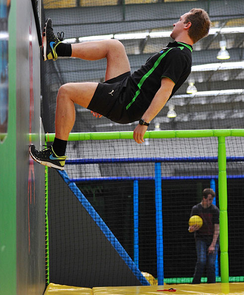 Flip it and reverse it with your group at Gravity Zone